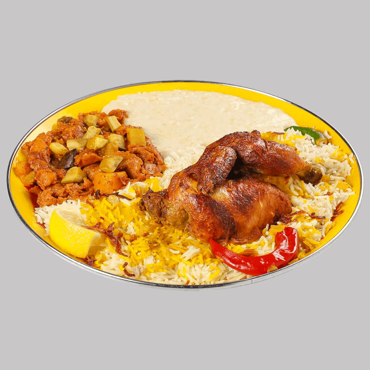 Half Chicken Badya