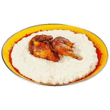سليق نصف دجاجة Half Chicken Saleek_1