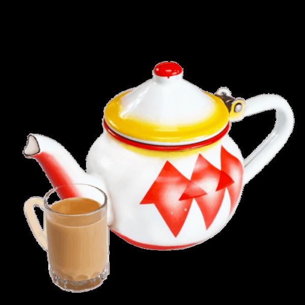 شاي بالحليب