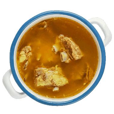 شوربة قـطع اللـحم Lamb Chunk Soup